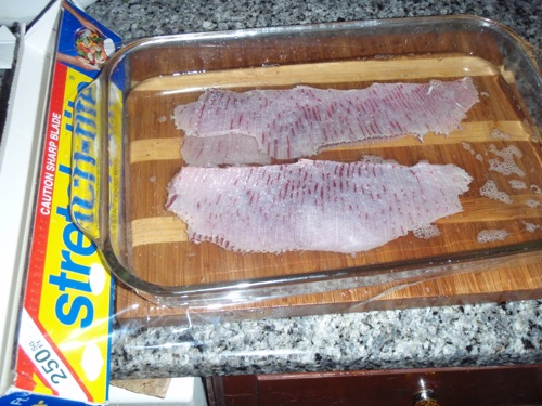 Marinated Chesapeake Ray Stingers | Chesapeake Light Tackle